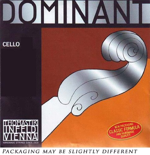 Thomastik Dominant 4/4 Cello String Set Medium Gauge